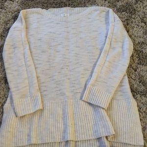 Cream Sweater Loft